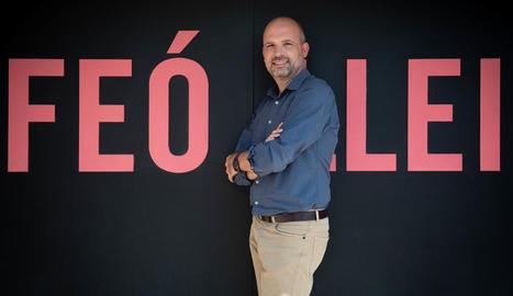 """Óscar Enrech: """"L'esperit que mou l'Orfeó Lleidatà és inconformista per naturalesa"""""""