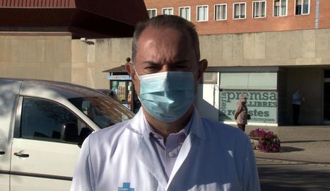 L'Hospital Arnau de Vilanova de Lleida preveu reobrir aquesta setmana una segona planta covid