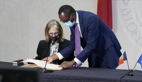 Andorra va firmar divendres la seua adhesió a l'FMI.