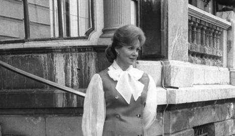Rhonda Fleming.