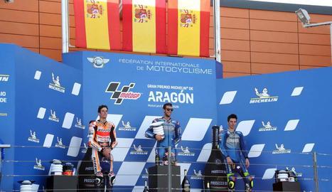Àlex Márquez aconsegueix a Alcanyís el seu segon podi en el Mundial de MotoGP