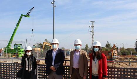 Avança la construcció de l'hospital annex a l'Arnau de Vilanova de lleida
