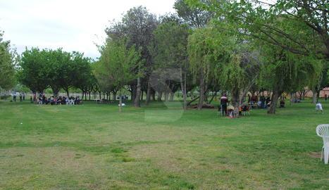 Imatge d'arxiu del Parc de la Serra de Mollerussa.