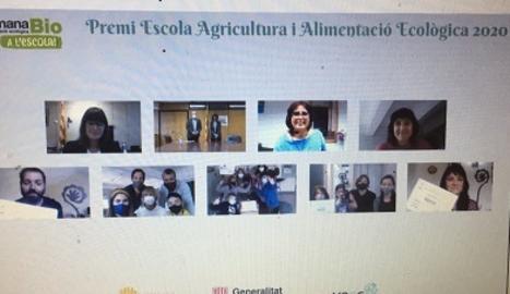 L'Escola Mare de Déu de la Mercè de Sant Ramon, guanyadora del Premi Escola Agricultura i Alimentació