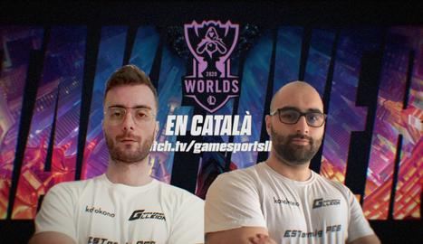 Un canal lleidatà, l'únic que retransmet els campionats mundials de League of Legends en català
