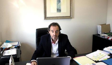 Xavier Morreres, el nou director gerent del CT Urgell.