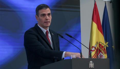 El president del Govern espanyol, Pedro Sánchez.
