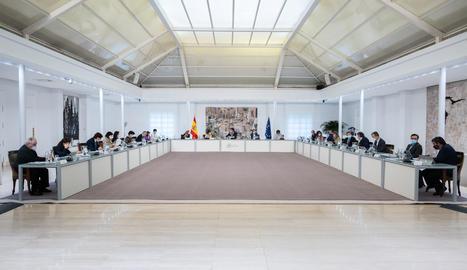El Consell de Ministres extraordinari.