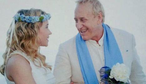 Mainat i Angela a la seua boda el 2011.