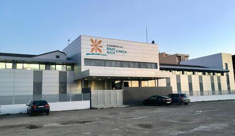 Seu de la comarca del Baix Cinca a Fraga.