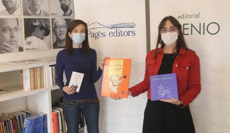 Eulàlia Pagès i Joana Soto.