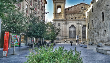 Vista de la Catedral de Lleida