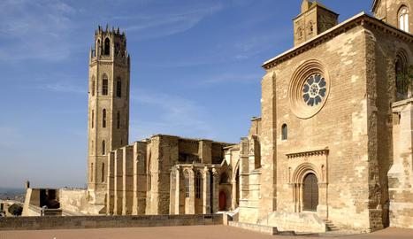 Vista de la Seu Vella de Lleida