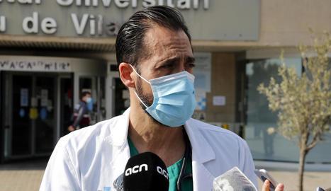 Es doblen en menys de 15 dies els ingressats per coronavirus a Lleida i la situació