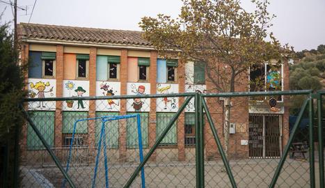 Imatge de l'escola Maldanell de Maldà, que té 12 alumnes.