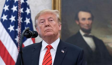 El president dels EUA, Donald Trump, opta a un segon mandat.