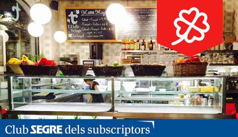 El Restaurant Teresa Carles de Lleida s'ha convertit en un dels restaurants vegetarians referents de la capital.