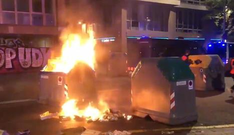 Incidents de divendres a Barcelona.