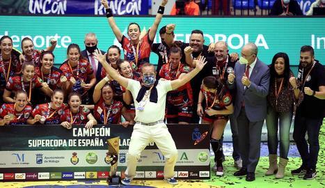 Triomf malagueny a la Supercopa
