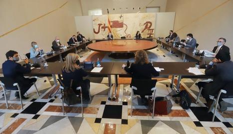 La reunió del consell executiu del Govern la setmana passada.