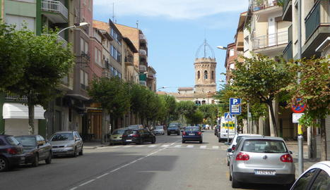 Imatge d'arxiu d'una vista del centre urbà de Tremp.