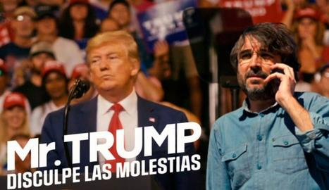 Jordi Évole estrena 'Mr. Trump, disculpe las molestias' a La Sexta.