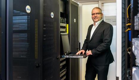 Sisco Sapena és el CEO de Lleida.net.