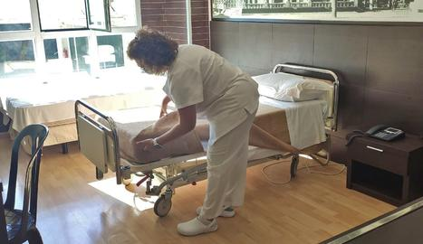 Salut prepara el l'hotel Nastasi de Lleida per acollir pacients