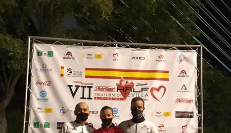 Dos podis del Club Prosan a la Copa d'Espanya de triatló