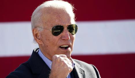 El candidat a la presidència demòcrata dels Estats Units i exvicepresident Joe Biden.