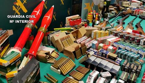 La Guàrdia Civl ha decomissat més de 36.000 cartutxos i 147 armes de foc en aquesta operació.