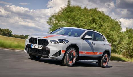 Encara més atractiu i exclusiu, l'Sports Activity Coupé (SAC) estableix un nou nivell amb el BMW X2 M Mesh Edition.