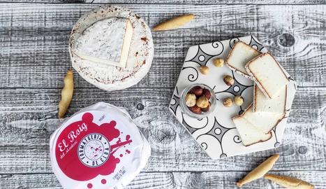 El Roig del Montsec, un dels productes de la formatgeria.