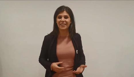 Marta Vilalta va anunciar la candidatura en un vídeo.