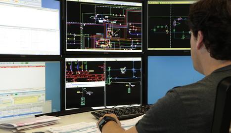 Un centre de control de la companyia.