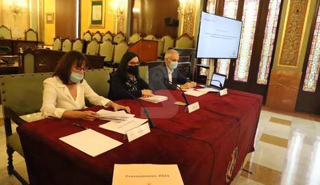 L'acte de presentació dels pressupostos de la Paeria.