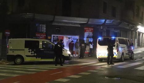 Alguns dels implicats en la baralla van ser identificats per Urbana i Mossos.