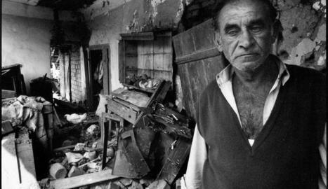 La periodista Sandra Balsells es va reunir amb els supervivents que havia fotografiat als Balcans.