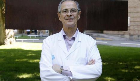 El catedràtic de cirurgia i exrector de la UdL, Joan Viñas.