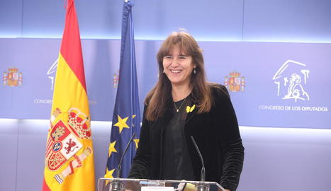 Laura Borràs, de JxCat.