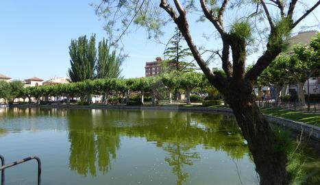 Imatge d'arxiu del parc del Terrall de Les Borges.