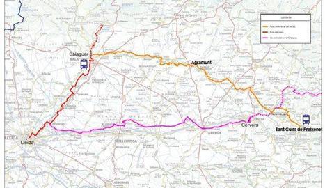 Projecten una ruta cicloturista de 70 quilòmetres per municipis de la Segarra, l'Urgell i la Noguera