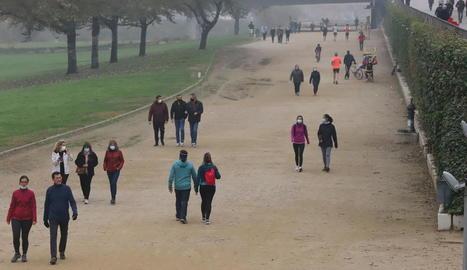 Nova jornada de passeig i esport a l'aire lliure