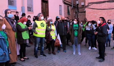 Suspès el desnonament d'una família del barri de la Mariola de Lleida