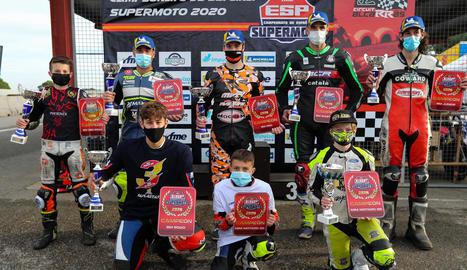 El Circuit d'Alcarràs tanca l'Estatal de Supermoto amb tots els campions