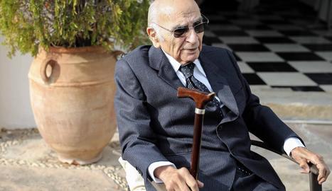 El poeta valencià FraEl poeta valencià Francisco Brines, autor d'obres com 'El otoño de las rosas'.ncisco Brines, autor d'obres com 'El otoño de las rosas'.