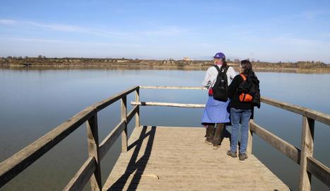 El buidatge de l'estany d'Ivars i Vila-sana arriba a la recta final