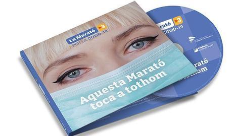 El Disc de la Marató 2020, aquest any dedicat a la Covid-19, es posarà a la venda el diumenge 29 de novembre al preu de 10 euros amb SEGRE.