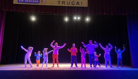 Les Borges va celebrar l'any passat una desfilada i teatre infantil.