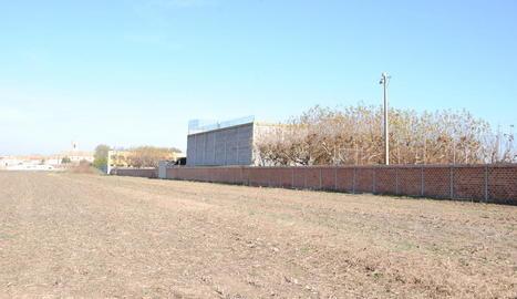 Els terrenys que serviran per ampliar la zona esportiva.